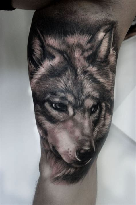 bildergebnis f 252 r wolf tattoo arm tattoo pinterest