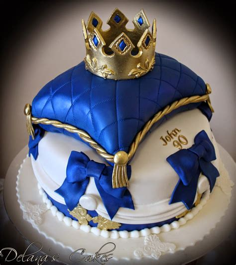 Crown On Pillow Cake by Delana S Cakes Royal Crown Pillow Cake