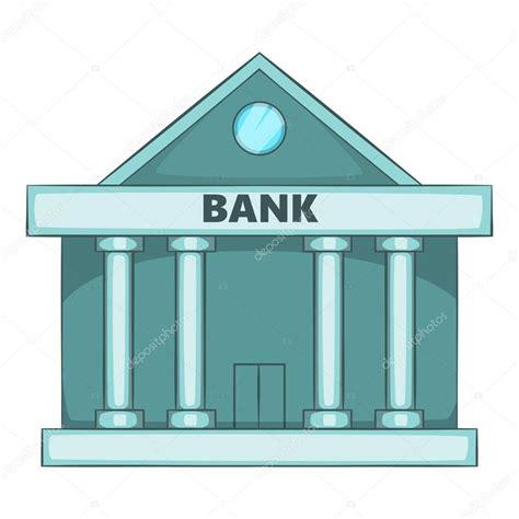 de bank icono banco suizo estilo de dibujos animados vector