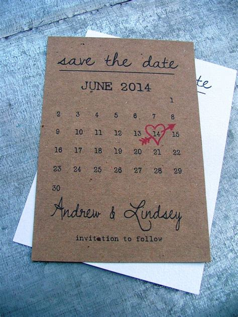 design free save the date cards printable save the date cards heart date save idealpin