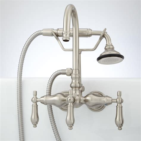 bathtub faucet with shower attachment shower head attachment for tub faucet