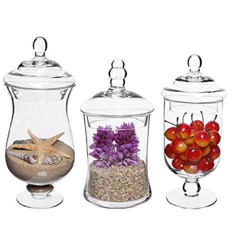 Awardpedia Apothecary Jar 3 Piece Set Wedding Candy Buffet Apothecary Jar 3 Set Wedding Buffet