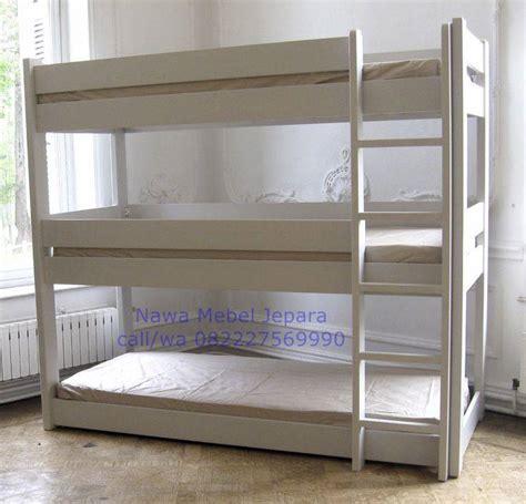 Tempat Tidur Minimalis Tingkat jual tempat tidur tiga tingkat minimalis jual meja dan