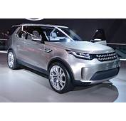 Land Rover Discovery Vision Concept Pictures  Carbuyer