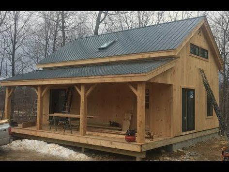 vermont cabin cottage plan tiny house cabin timber