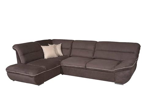 microfiber sectional sofa sleeper ef terzo fabric