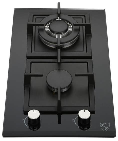 lpg cooktops k h 2 burner 12 quot lpg propane gas glass cooktop 2 gcw lpg