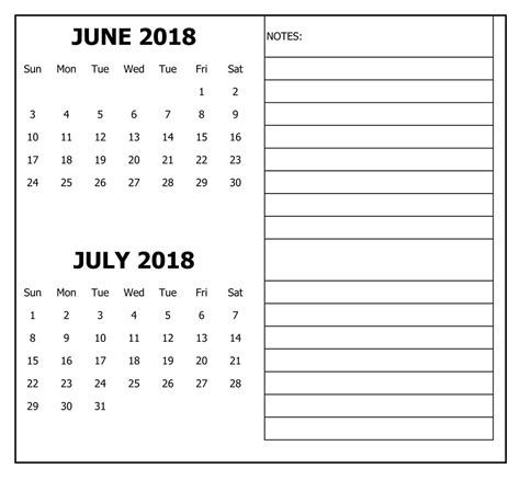 printable calendar 2018 doc july 2018 calendar holidays editable doc free download