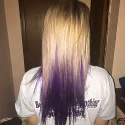 pictures of hair underneath 17 best ideas about purple underneath hair on pinterest