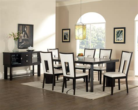 contemporary black dining room sets contemporary modern dining room sets inspiration home