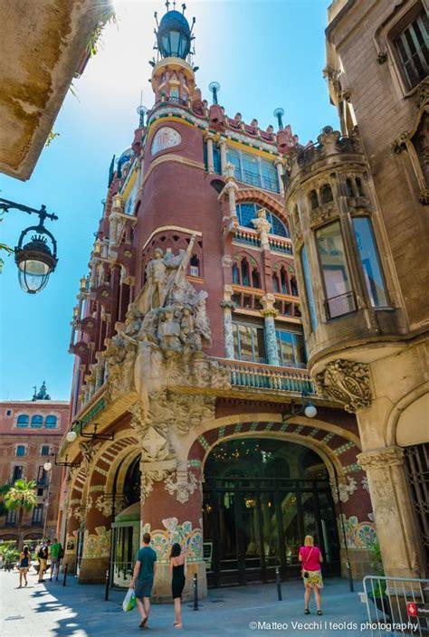 casa della musica barcellona el edificio modernista palau de la m 250 sica catalana