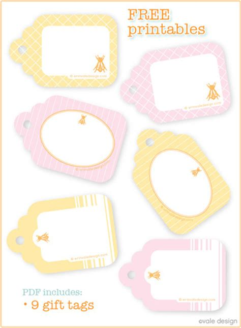 free printable gift tags summer template printable images gallery category page 94