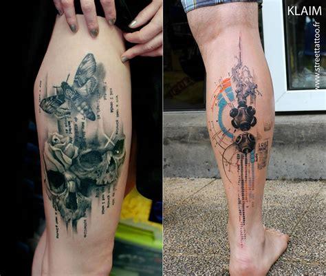 stencil  watercolor tattoos  klaim scene