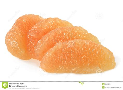 grapefruit sections grapefruit sections stock photos image 8615223