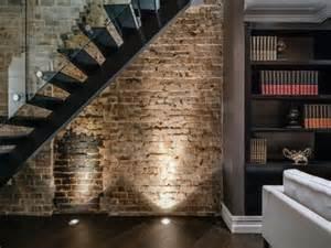 exposed brick wall lighting the most beautiful brick interior design in paddington sydney