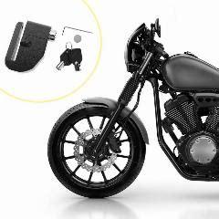evrensel disk fren motosiklet kilit loud alarm anti