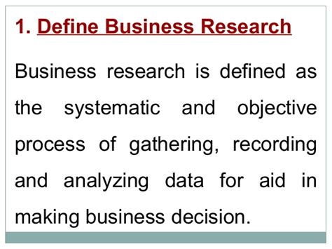 Research Methodology Ppt For Mba by Business Research Methodology Presentation