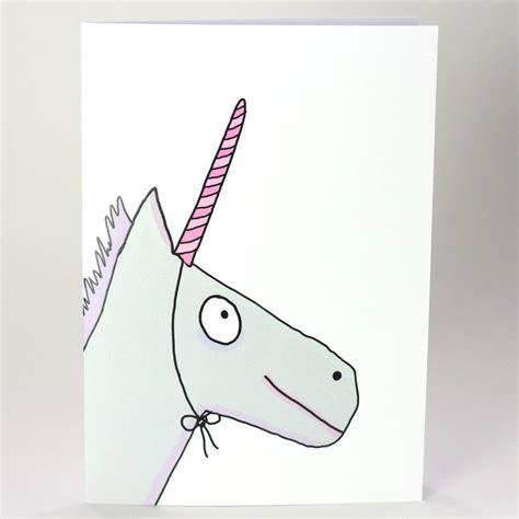 unicorn cards unicorn birthday card by indieberries notonthehighstreet