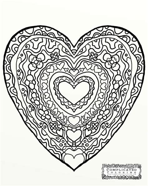 abstract coloring pages hearts heart abstract doodle zentangle coloring pages colouring