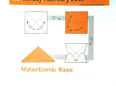 Origami Water Balloon Base - jon math origami