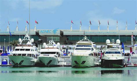 boat show in abu dhabi news centre abu dhabi international boat show 2018