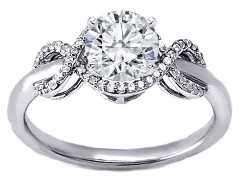 Princess Cut Engagement Rings With Infinity Band 73 Best Images About Rings On White Gold