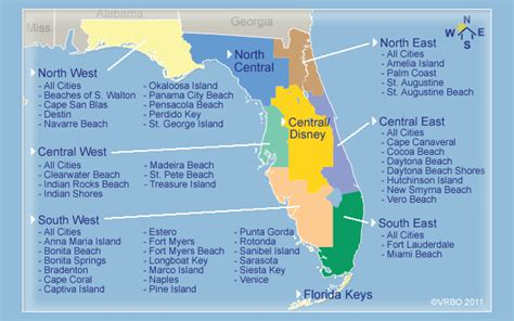 florida vacation map the pitfalls of booking a home for a term