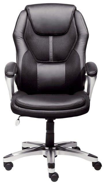 buy chair serta executive office chair black 43673 best buy