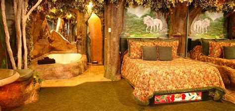 forest themed bedroom black swan inn luxury themed suites in pocatello idaho