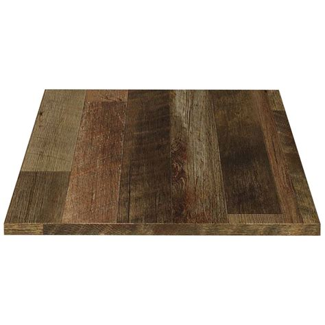 custom laminate table tops reclaimed look laminate table tops