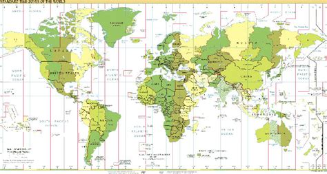 time change map matchc time zone country and region maps