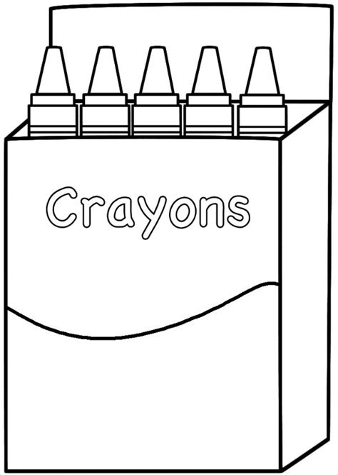 8 Crayon Box Templates Free Pdf Psd Eps Format Download Free Premium Templates Printable Crayon Template