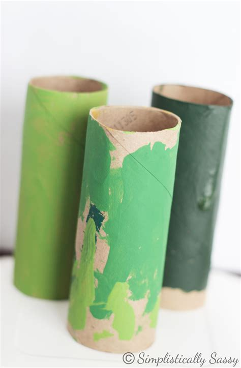 Craft Paper Rolls - toilet paper roll tree crafts www imgkid