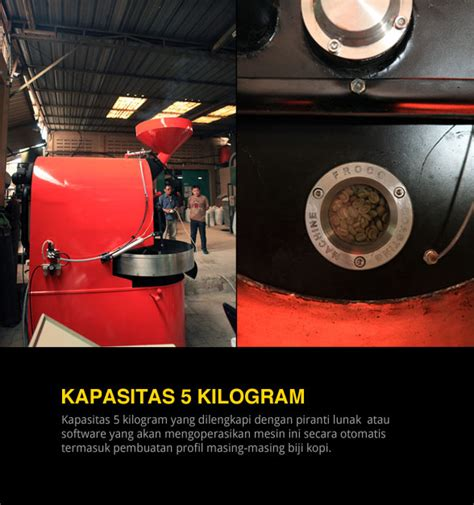 Mesin Kopi Sederhana froco anyone can roast cikopi