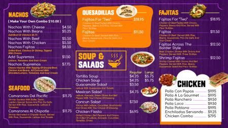 takeaway menu template free dsmenu digital signage menu board