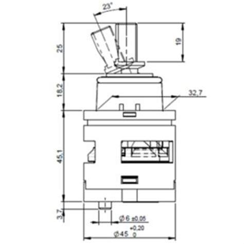 45mm ceramic disc cartridge 45mm o ring ceramic disk tap cartridge page 1