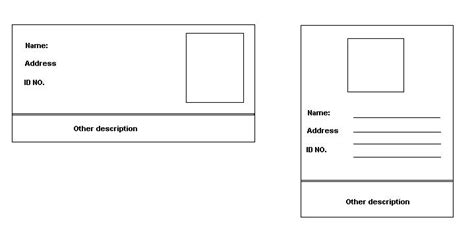 Id Card Template Pdf by C Using Reports To Generate Id Card Dynamically