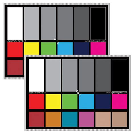 color calibration tool dgk color tools dkk color calibration chart set dkk set of