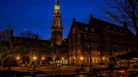 full hd wallpaper amsterdam night street ancient building