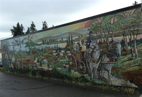 Wall Murals Vancouver Island The Shop Picture Of Wall Murals Chemainus