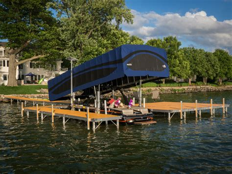 boat lifts for sale park rapids mn lepier shoreline outdoors bemidji mn docks lifts