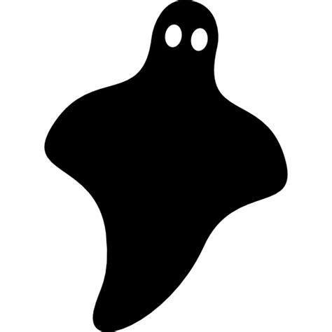 Ghost Black black ghost free shapes icons