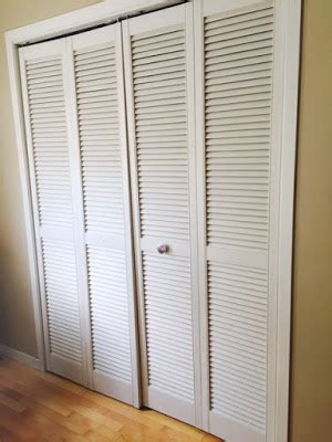 Painting Closet Doors With Slats Pro Painting Of Louvered Slatted Closet Doors