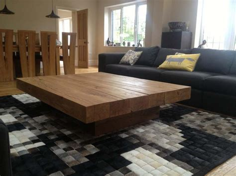 remarkable big coffee tables  ideas  large square