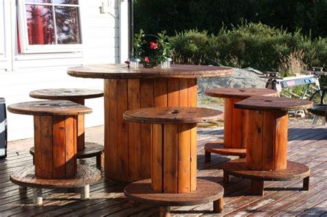 20 diy wooden spools repurposing ideas quick and simple