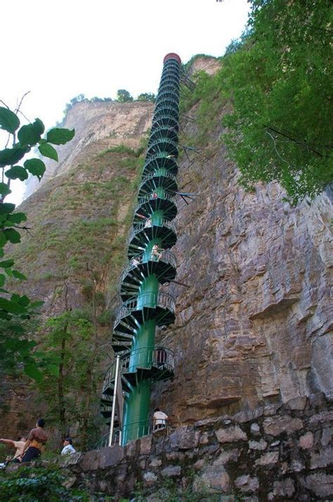 Spiral For All Ht China most beautiful staircases in the world