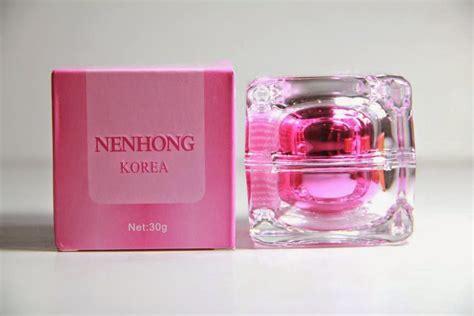 Original Nenhong Korea Nenghong Pemerah Bibir Alami pemerah bibir dan payudara nenhong korea asli