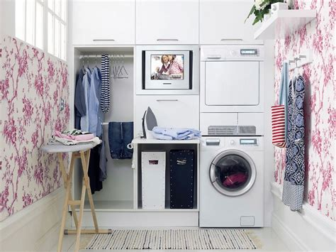 Storage For Small Laundry Room 20 Briliant Small Laundry Room Storage Solutions