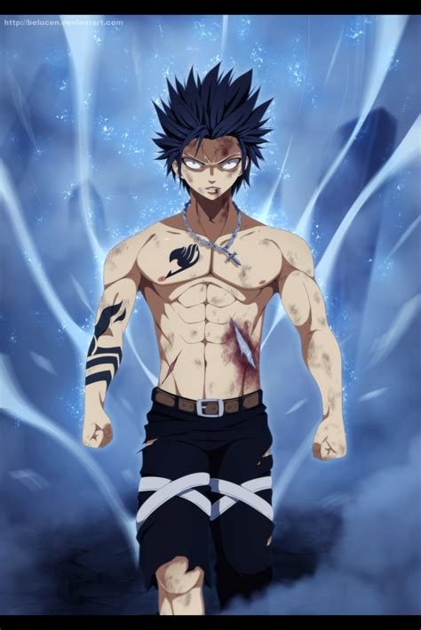 fairy tail 499 gray s awakening by belucen on deviantart