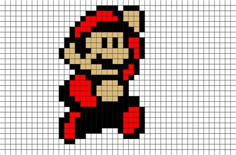 big mario pixel art brik